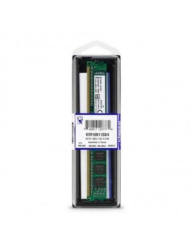 KINGSTON RAM 4GB DDR3 - 1600MHz DIMM