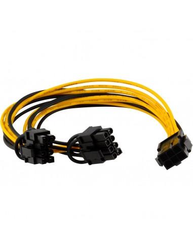 PCIE 6pin to 2* PCIE 6+2pin