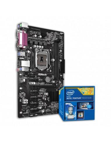 Pack Asrock H81 + Intel Pentium G3440